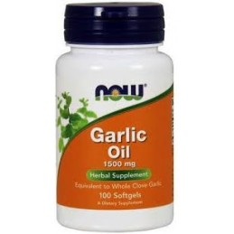 Garlic Oil 100 Cápsulas Now