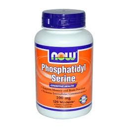 Phosphatidyl Serine 100mg 60 cápsulas vegetais Now