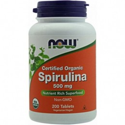 Spirulina Now 200 Comprimidos