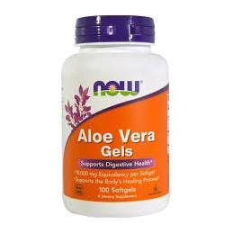 Aloe Vera Gels 5000mg 100 Cápsulas Now