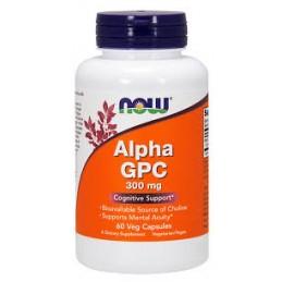 Alpha GPC 300 Mg 60 Capsulas Now