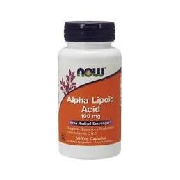 Alpha Lipoic Acid Now 100 mg