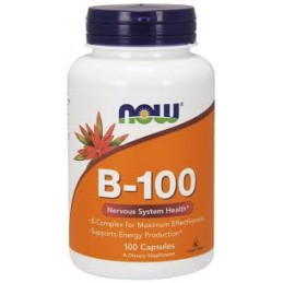 B 100 100 Capsulas Now