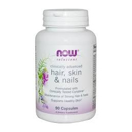Hair, Skin & Nails 90 capsulas Now