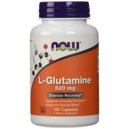 L-Glutamine 500mg 120 cápsulas