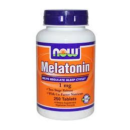 Melatonin 1 mg Now 100 Comprimidos