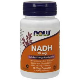 Nadh 10 mg 60 capsulas