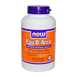 Pau d' Arco 500mg 100 capsulas Now