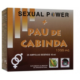 Sexual Power + Pau de Cabinda 20 Ampolas