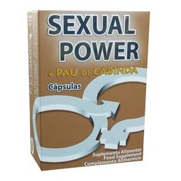 Sexual Power + Pau de Cabinda Capsulas
