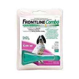 Frontline Combo Cao L20-40 1 Pipeta