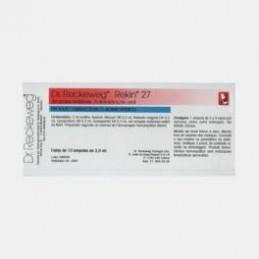 Rekin 27 10 ampolas (hiperuricémia, gota, litíase renal e vesicular, drenagem.)