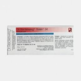 Rekin 34 10 ampolas (escoliose, crescimento assimétrico, bicos de papagaio, calcificações, aterosclerose)