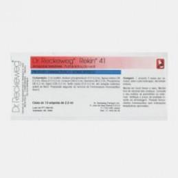 Rekin 41 10 ampolas (impotência sexual, falta de vitalidade, espermatorreia, esgotamento nervoso, efeitos do envelhecimento.)