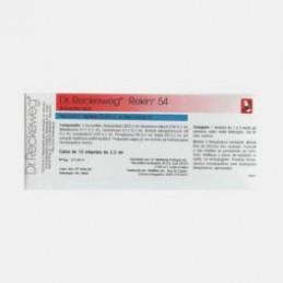 Rekin 54 10 ampolas ( alteraçoes das funçoes cognitivas, baixo rendimento intelectual, dificuldade de concentração e raciocinio)