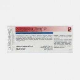 Rekin 55 10 ampolas( traumatismos, fracturas osseas, entorses, luxaçoes, hematomas e equimoses)