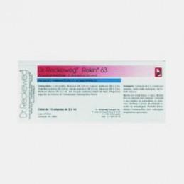 Rekin 63 10 ampolas (arteriopatia periférica, claudicação intermitente, acroparestesias, cãibras musculares.)