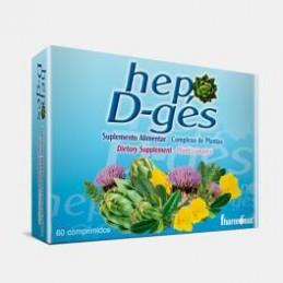 Hep D-Ges 60 comprimidos