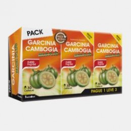 Pack Garcinia Cambogia Max-Plus Pague 1 e Leve 3