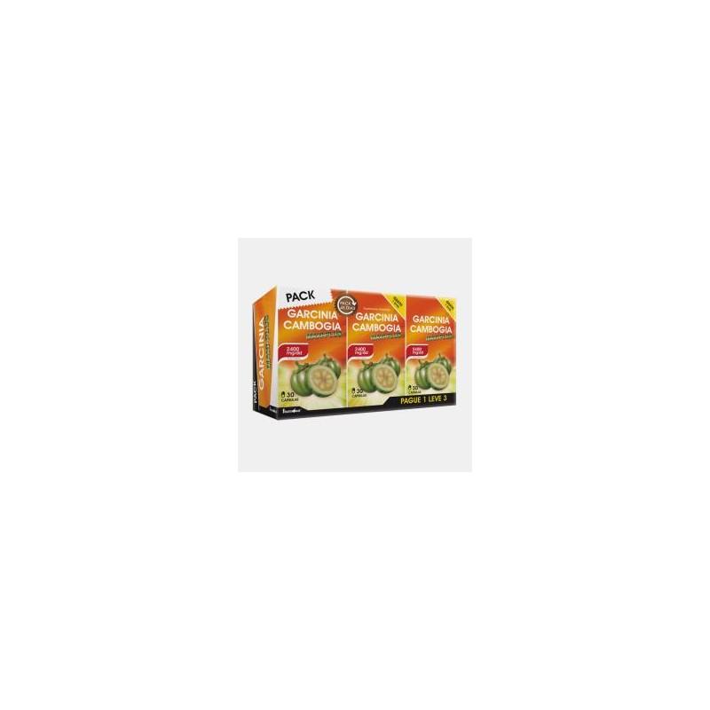 Pack Garcinia Cambogia Max-Plus Pague 1 e Leve 3