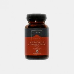 Astragalus Elderberry & Garlic Complex 50 capsulas
