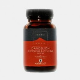 Dandelion Artichoke & Cysteine Complex 50 capsulas