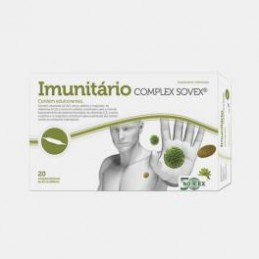 Imunitario Coomplex Sovex 20 ampolas