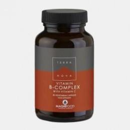 Vitamina B Complex with Vitamin C 50 Capsulas