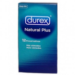 Preservativo Durex Natural Plus x12