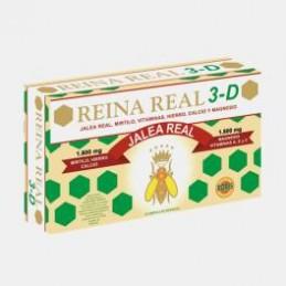 Reina Real 3 D 20 Ampolas