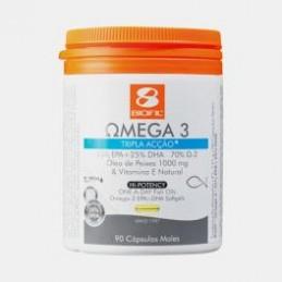 Biofil Omega 3 1000 mg Tripla Acao 90 Capsulas