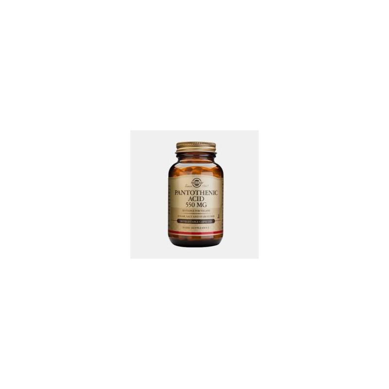 Acido Pantotenico 550 mg 50 Capsulas Solgar