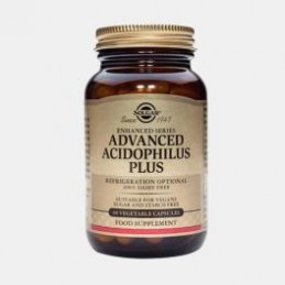 Advanced Acidophilus Plus 60 Capsulas Solgar