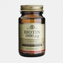 Biotina 50 Capsulas Solgar