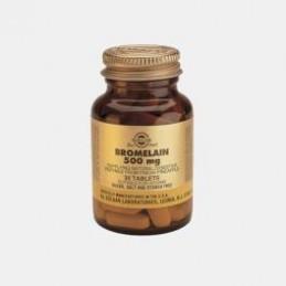 Bromelaina 500 mg 30 Comprimidos Solgar
