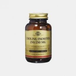 Choline Inositol 250/250 mg 50 Capsulas Solgar