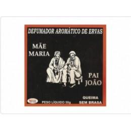Defumador Pai Joao Mae Maria Queima sem Brasa