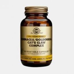 Equinacea + Unha de Gato 60 Capsulas Solgar