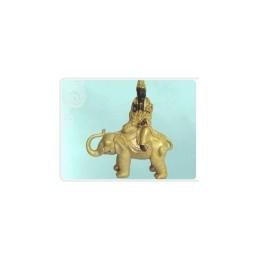 Kwanyin Sentado em Elefante   25x13,5x34,5