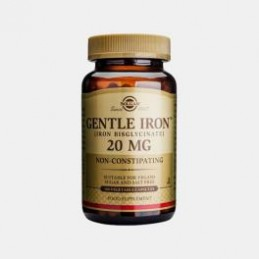 Gentle Iron 20 mg 180 Capsulas Solgar