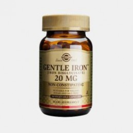 Gentle Iron 20 mg 90 Capsulas Solgar