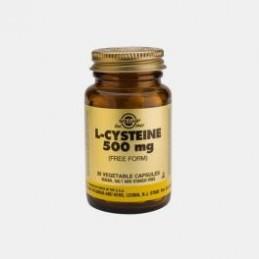 L- Cisteina 500 mg 30 Capsulas Solgar