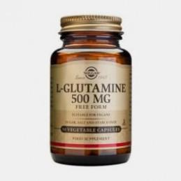 L-Glutamina 500 mg 50 Capsulas Solgar