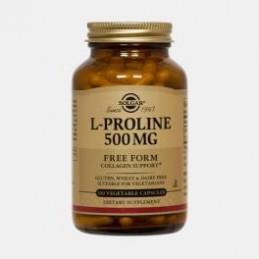 L-Prolina 500 mg 100 Capsulas Solgar