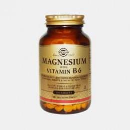Magnesio com Vitamina B6 250 Comprimidos Solgar