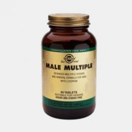 Male Multiple Multivitamin 60 Comprimidos Solgar