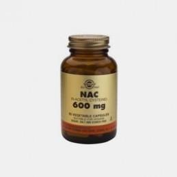 NAC 600 mg 60 Capsulas Solgar