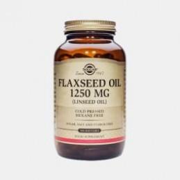 Oleo de Sementes de Linho 1250 mg 100 Capsulas Solgar