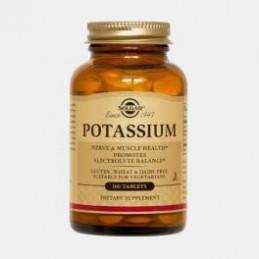 Potassio 100 Comprimidos Solgar