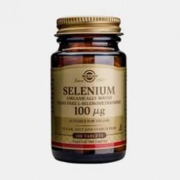 Selenium 100ug 100 comprimidos Solgar
